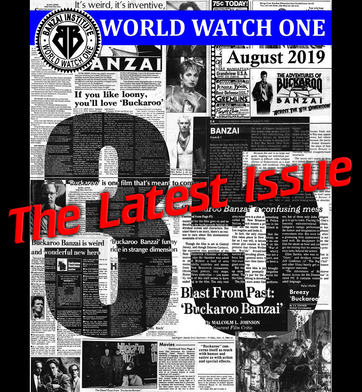 World Watch One: August 2019