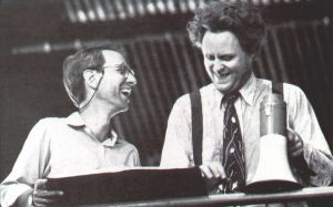 W.D. Richter and John Lithgow